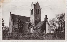 MAISONS-LAFFITTE - Le Temple Prostestant - Carte Glacée Timbrée 1950 - Maisons-Laffitte