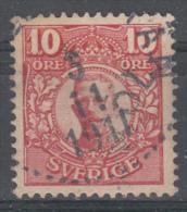 D1884 - Sweden Mi.Nr. 71 O/used - Suède