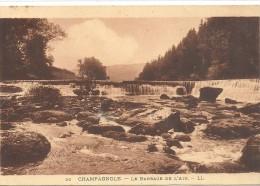 -20--CHAMPAGNOLE--LE BARRAGE DE L AIN..JOLI AFFR AU VERSO  DU 11-9-1934-- - Champagnole