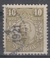 D1895 - Sweden Mi.Nr. 79 O/used - Suède