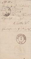 Preussen Brief Magdeburg 5.2.1858 Gelaufen Nach Calbe - Preussen