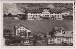 VALLORBE : QUARTIER DE LA GARE - EDITION DERIAZ VALLORBE - 2 SCANS - - VD Vaud