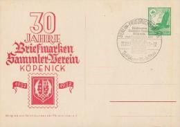 DR Privat-Ganzsache Minr.PP142 C22 SST Berlin 21.11.37 - Deutschland