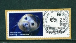 IRELAND  -  2013  Post And Go Label  Common Seal  Registered CDS  As Scan - 1949-... Republic Of Ireland
