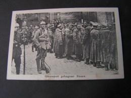 ==  Saarland , Russen Transport 1915   Bahnhof Stempel - War 1914-18