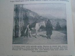 Turkey  ERZURUM  To Bayazet - Beyazit - DoÄŸubeyazıt - Türkish Soldier -Travel Guard    Ca 1910- Hungarian Print  RI.13 - Autres Collections