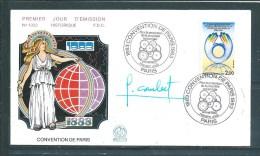 Envelloppe Premier Jour Du N°2272 ( Dédicacée ) 14/05/83 - Documents De La Poste