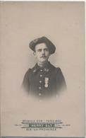 13 - AIX en PROVENCE - CARTE PHOTO -  MILITARIA  -  CHASSEUR ALPIN  - 23�me R�giment - Photographe m�daille d'or en 1900