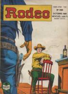 RODEO N° 458 BE SEMIC 10-1989 - Rodeo