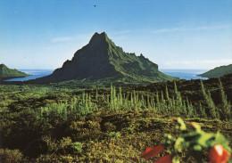 Moorea - Vue Du Belvédère Sur Le Mont Rotui Et Les Baies D'Opunohu Et De Paopao - Polynésie Française