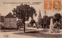 Laperrière : Centre Du Pays, Café Du Centre (Editions C. Lardier, Besançon, CLB - Edit. Blanchot Gomy, St Jean De Losne) - France