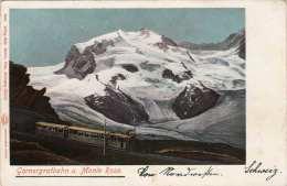 GORNERGRATBAHN Und MONTE ROSA 1898 - Non Classificati