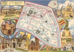 PARIS - 3° Arrondissement - ** L´arrondissement Illustré - Curiosités & Distractions ** - Cpa édit; Blondel La Rougery- - Paris (03)
