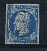 N 14A Ob Pc2281 Variété Poste F - 1853-1860 Napoléon III.