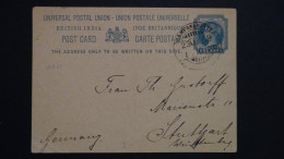 India - British India - 1909 - 1A - Postal Stationary - Look Scan - India (...-1947)