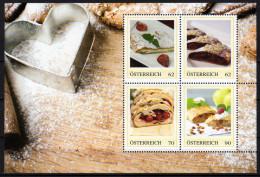 ÖSTERREICH 2014 ** Mehlspeise Strudeln - PM Personalized Stamps MNH - Ernährung