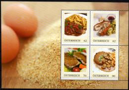 ÖSTERREICH 2014 ** Fleisch Spezialitäten ( Block 2) - PM Personalized Stamps MNH - Ernährung
