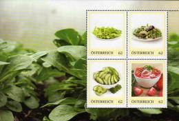 ÖSTERREICH 2014 ** Salat Spezialitäten - PM Personalized Stamps MNH - Ernährung