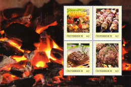 ÖSTERREICH 2014 ** Grillspezialitäten - PM Personalized Stamps MNH - Ernährung
