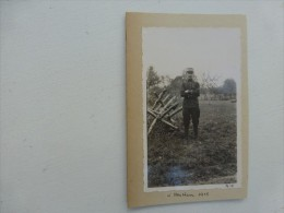 Guerre 14-18 Le Juge E.J. LAFAURIE, 260 ème RI à  HECKEN  1915, Ref 444 Photo5 - Guerra, Militari