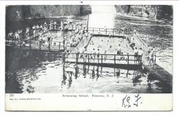 ///  CPA - Amérique - Etats Unis - New Jersey - PATERSON - Swimming School   // - Paterson