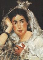 Edouard Manet.  Marguerite De Conflans,1873.  Winterthur, Museum Stiftung Oskar Reinhart.  # 04417 - Peintures & Tableaux