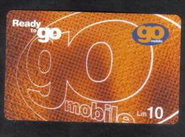 MALTA -  GO MOBILE    LM10  /   USED - 2000   ( DIFF.CARD 3 ) - Malta