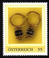 ÖSTERREICH 2009 ** Archäologie, Römische Ohrringe - PM Personalized Stamp - MNH - Archäologie