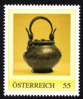 ÖSTERREICH 2009 ** Archäologie, Römisches Weihrauchgefäß - PM Personalized Stamp - MNH - Archäologie