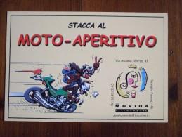Moto Aperitivo Carte Postale - Advertising