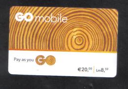 MALTA - GO PHONECARD  ( MATT CARD )   20 EURO USED - Malta