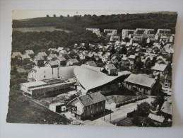 CPSM 90 En Avion Au Dessus De.. BELFORT Eglise STE THERESE Etat Des Tyravaux Juillet 1963 - Belfort - Ville