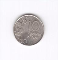 10 Penni Finlandia Suomi Finland 1995 (Id-224) - Finlandia