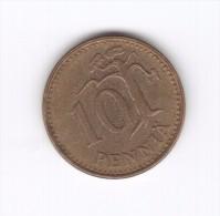 10 Penni Finlandia Suomi Finland 1963 (Id-280) - Finlandia