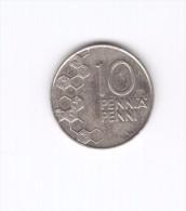 10 Penni Finlandia Suomi Finland 2000 (Id-294) - Finlandia