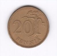20 Pennia Finlandia Suomi Finland 1963 (Id-279) - Finlandia