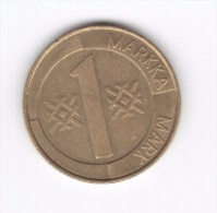 1 Mark Finlandia Suomi Finland 1993 (Id-282) - Finlandia