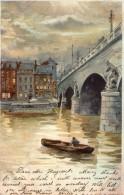 LIEGE -LE PONT THE BRIDGE VERY RARE YEAR 1900 EXCELENT QUALITY - Liege