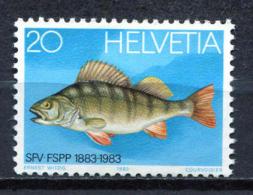 Switzerland 1983 Suiza / Fish MNH Peces Fisch / Jc20  34 - Peces