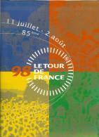 Dossier De Presse Du Tour De France 1998 Avec Cartes Et Explications Détaillées Vélo Cycliste Sport - Cycling