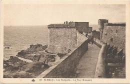 I3324 Saint Malo - Les Remparts - La Tour Bidouane / Non Viaggiata - Saint Malo