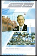 ARGENTINA 2011 - The NOT ISSUED Souvenir Sheet Of President Nestor C. Kirchner - Argentina
