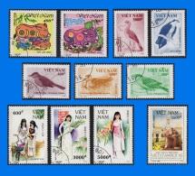 VN 1995-0001, Complete Year Set, CTO/MNH (12 Scans) - Vietnam