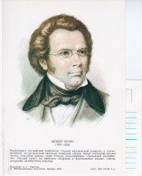Russia USSR 1988 Franz Schubert, Austrian Composer Music Austria - Russia
