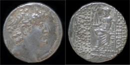 Seleucid Kingdom Philip Philadelphos AR Tetradrachm - Greek