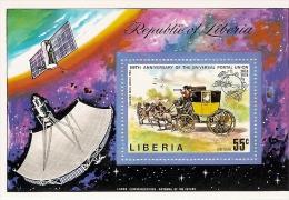 Liberia * & 100 Aniversário Da União Postal Universal 1974 (70) - Space