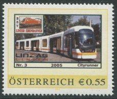 ÖSTERREICH / PM Nr. 8007054 / Linie 2 Bis SolarCity / Postfrisch / MNH / ** - Personalisierte Briefmarken