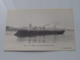 """Le """" Tage """" Croiseur De Premiere Classe ( 500 ) - Anno 19?? ( Voir Photo Details ) !! - Guerre"""