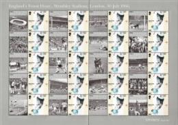 Gr Britain,  Scott 2014 # 2372a,  Issued 2006,  Sheet Of 20,  MNH,  Cat $ 27.00,  WC Soccer - 1952-.... (Elizabeth II)