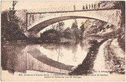 73. CHANAZ. Le Pont Et Le Canal De Savière Reliant Le Rhône Au Lac Du Bourget. 97 - France